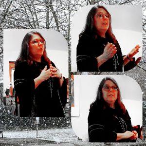 Holde Sabwei verzaubert die Landfrauen mit Wintermärchen