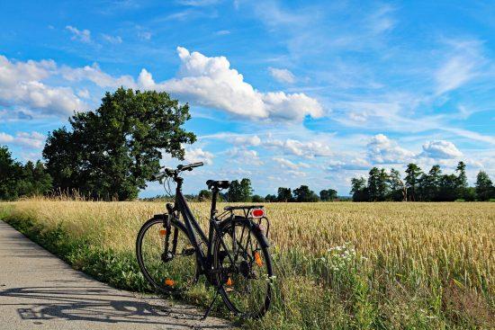 Fahrradfahren für die Landfrauengemeinschaft