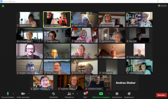 Online-Vortrag 'Eine gesunde Stimme bis ins hohe Alter' – ein voller Erfolg