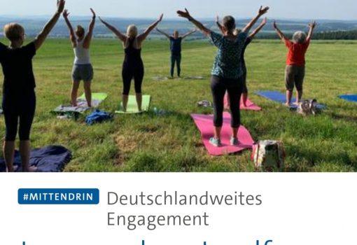 Tagesschau: Deutschlandweites Engagement Jung, modern, Landfrau